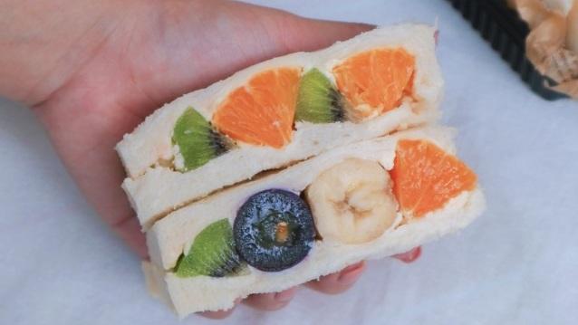 【甜點食譜】水果三明治:新手成功率100% @女子的休假計劃