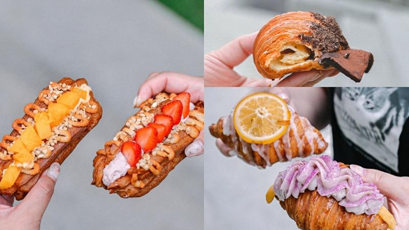 台灣蕃薯不是地瓜專賣店,可頌泡芙全品項買五送一甜點外帶店/三重排隊人氣美食 @女子的休假計劃