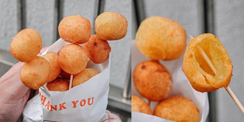中正台地瓜球:新竹最強地瓜球國民銅板小吃,Q彈脆口好涮嘴! @女子的休假計劃