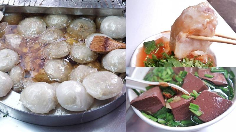 阿美肉圓:板橋在地隱藏銅板美食肉圓、芋頭油粿必配豬血湯/府中美食/板橋美食/銅板美食 @女子的休假計劃