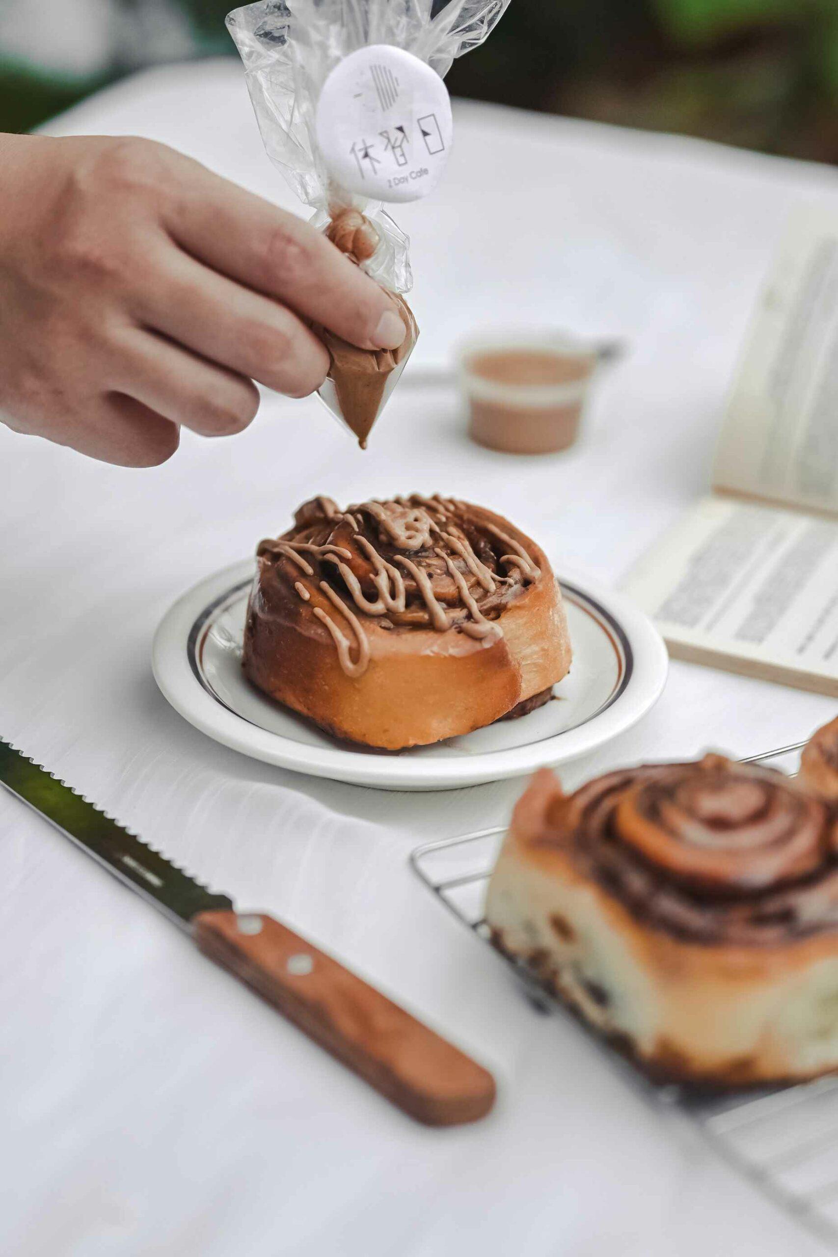 休習日Z Day Cafe:慢嚐生活,在行事曆中安排你的休習日 /休習日肉桂捲【台北不限時咖啡廳】 @女子的休假計劃