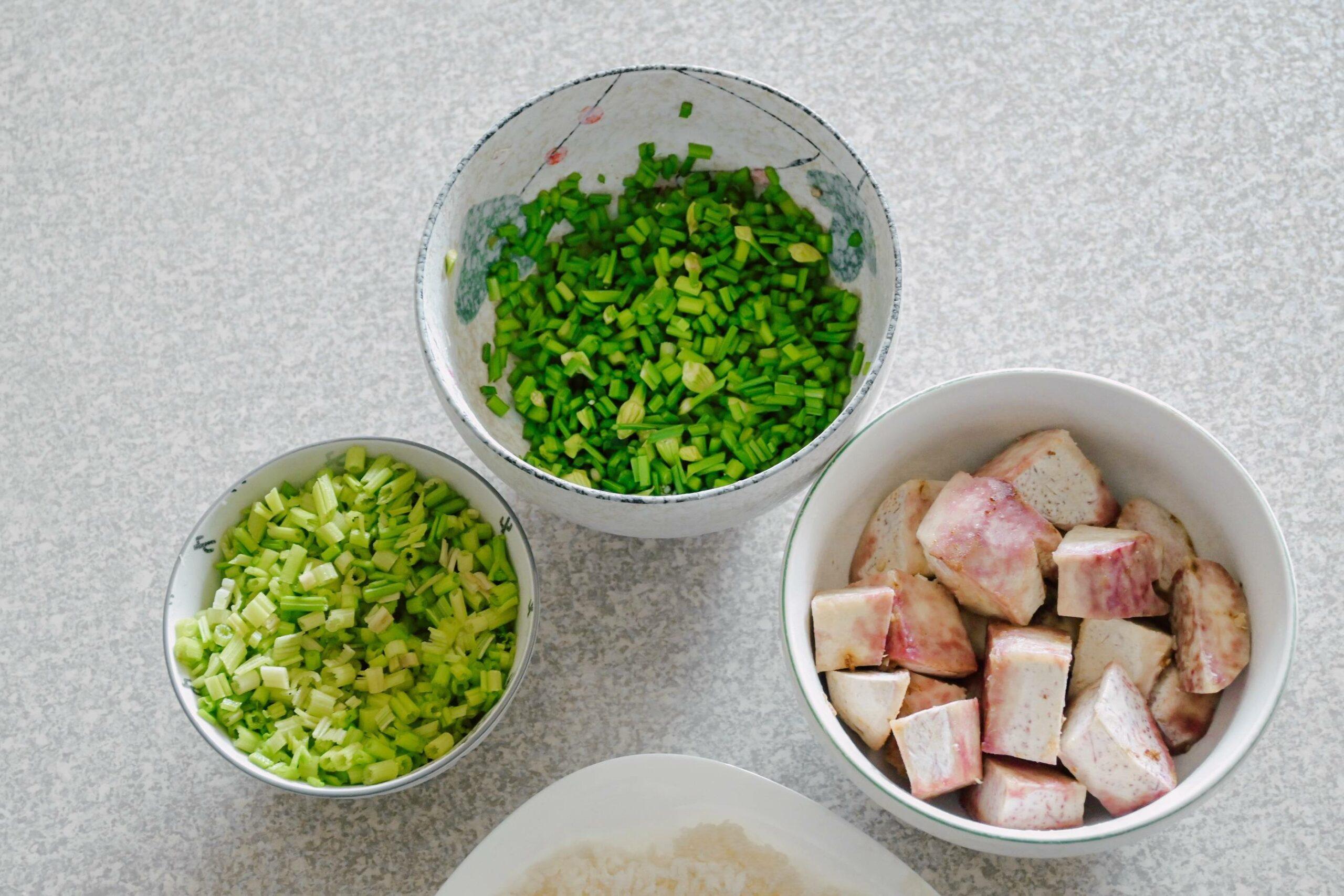 芋頭鹹稀飯食譜、芋頭鹹粥食譜:來自媽媽的味道。 @女子的休假計劃
