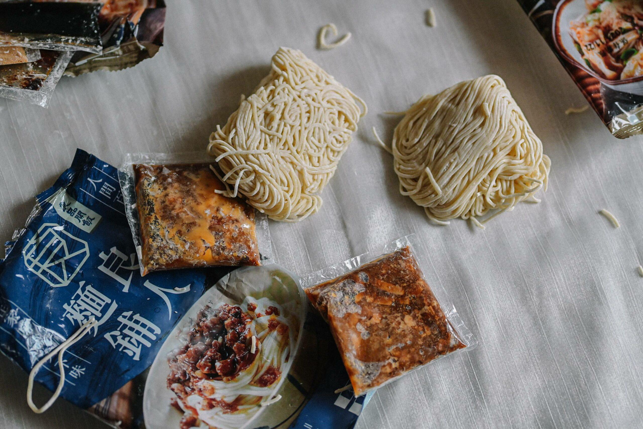 【乾拌麵推薦】良品開飯良人麵鋪:在家就像去巷口麵攤吃麵,比泡麵還健康。 @女子的休假計劃