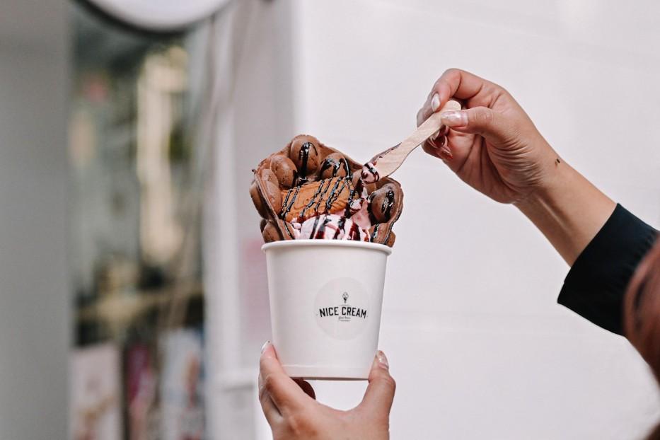 Nice Cream 義式手工冰淇淋:穿越8000公里瑞士百年老店,亞洲50間最佳冰淇淋店,素食者也可以安心享用 @女子的休假計劃