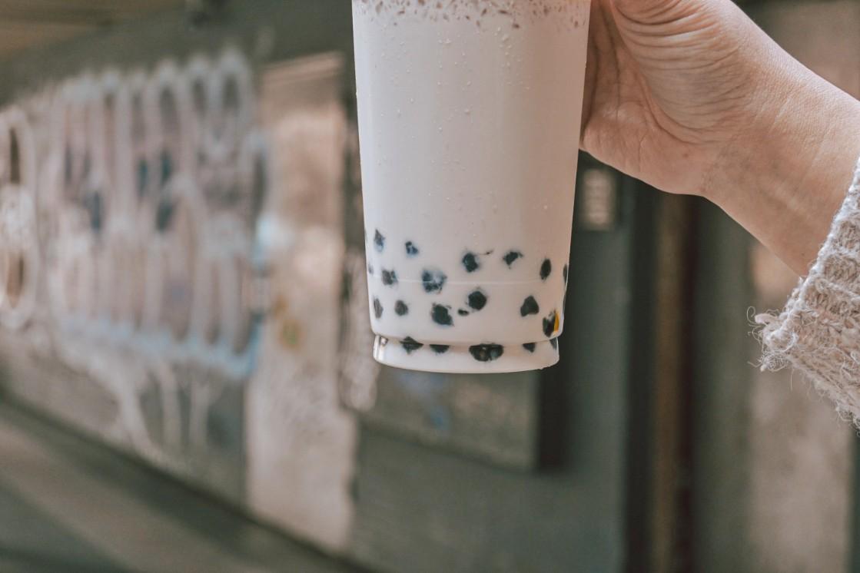 巷弄內珍珠奶茶:隱身板橋府中巷弄美食,紅到國外去的手搖飲店/波霸珍珠奶茶菜單 @女子的休假計劃
