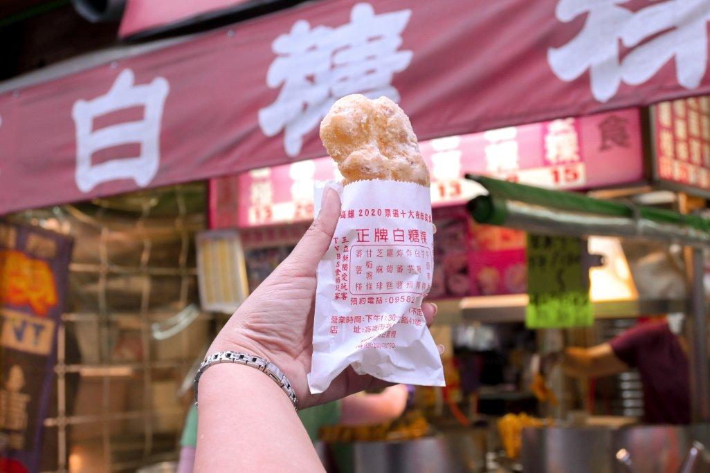 正牌白糖粿:票選10大夜市美食,60年老店,8樣點心都點才百元初/高雄必吃美食 @女子的休假計劃