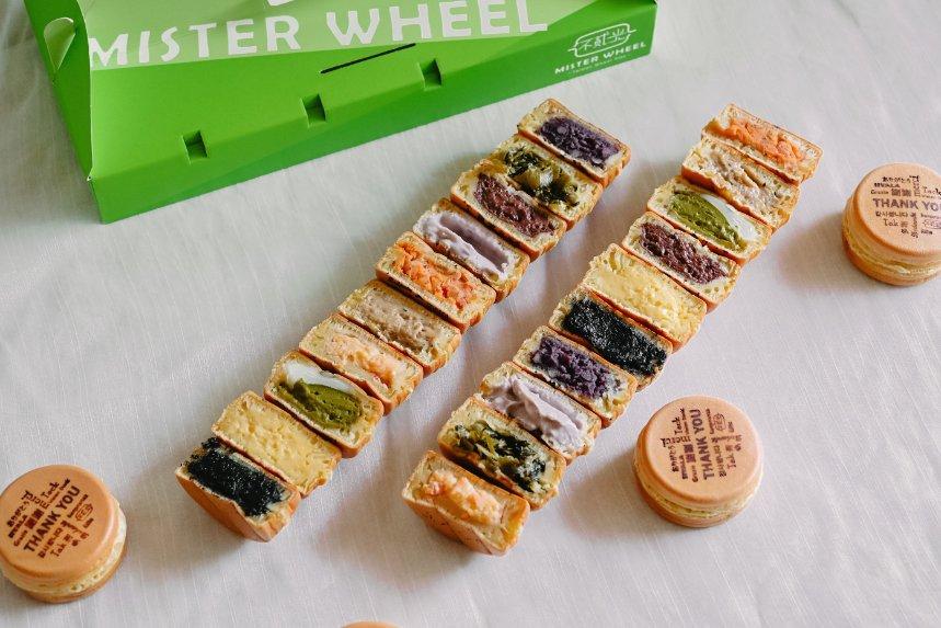 不貳光 Mister wheel:COACH、賓士等大廠牌聯名合作,連總統都欽點客製化爆餡車輪餅 【台北美食】(菜單) @女子的休假計劃