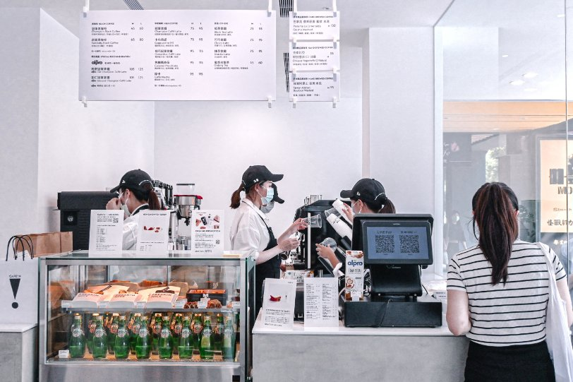 CAFE IN 台北民權店/ CAFE!N台北民權:美翻了!用最硬最親民的價格,享一抹留白的時髦質感與咖啡香 /台北不限時咖啡廳/外送 @女子的休假計劃