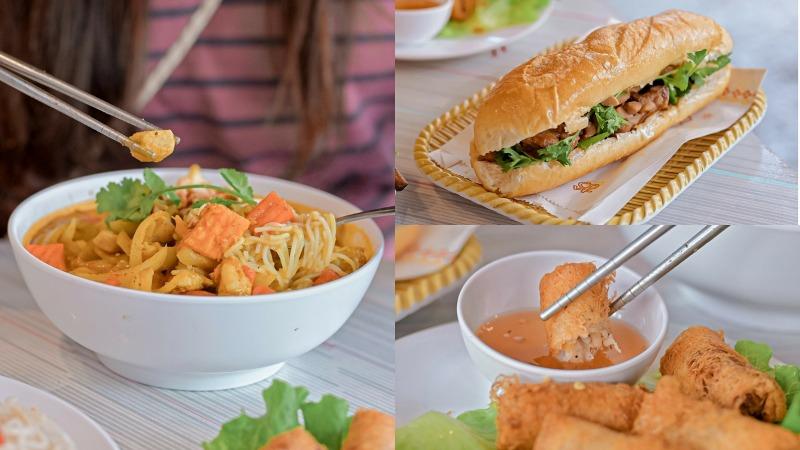 依鼎越式美食傳統越南料理,激推炸春捲/台北信義世貿吳興商圈/外送 @女子的休假計劃
