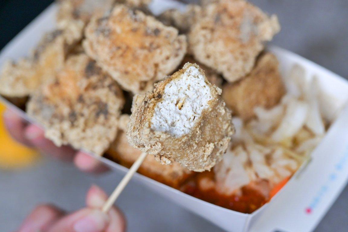 一派胡塩酵素臭豆腐-新莊新北新泰店:有別於傳統滋味,鹹酥口味的臭豆腐吃過沒?!/素食/外帶 @女子的休假計劃