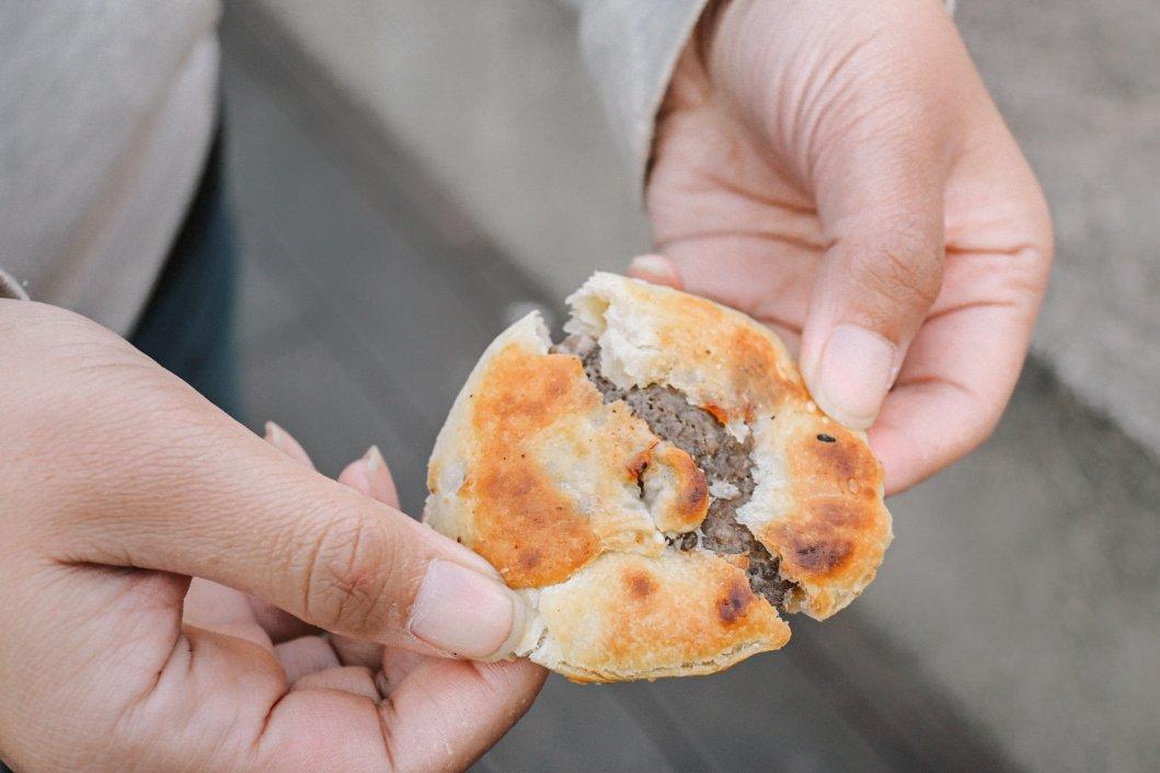 無名手推車燒餅南機場夜市,2021米其林必比登推薦 @女子的休假計劃