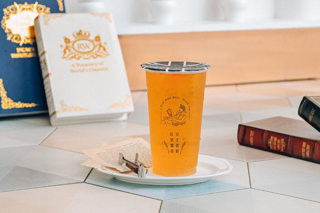 伊莉莎白紅茶書房:連鎖店喝質感好茶,歐式風格手搖飲料店/新北板橋府中飲料推薦/外送買十送一 @女子的休假計劃