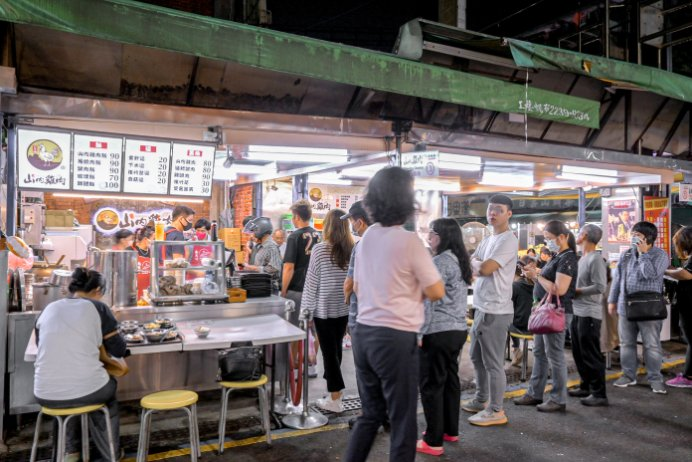 山內雞肉:南機場夜市美食,米其林必比登推薦/萬華美食/雞肉便當/開放內用/外帶外送 @女子的休假計劃
