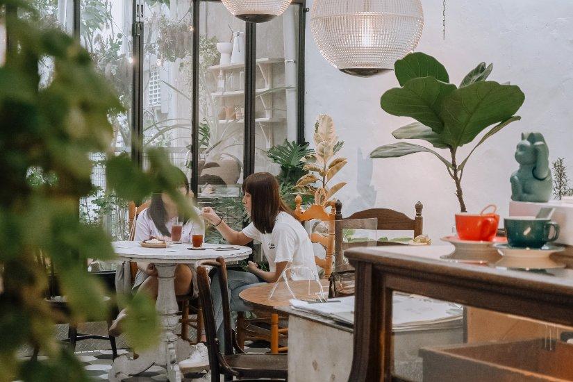 綠咖生活概念店:城市裡的森林秘境,有好吃的老奶奶焦糖法式吐司/森林系咖啡廳 @女子的休假計劃