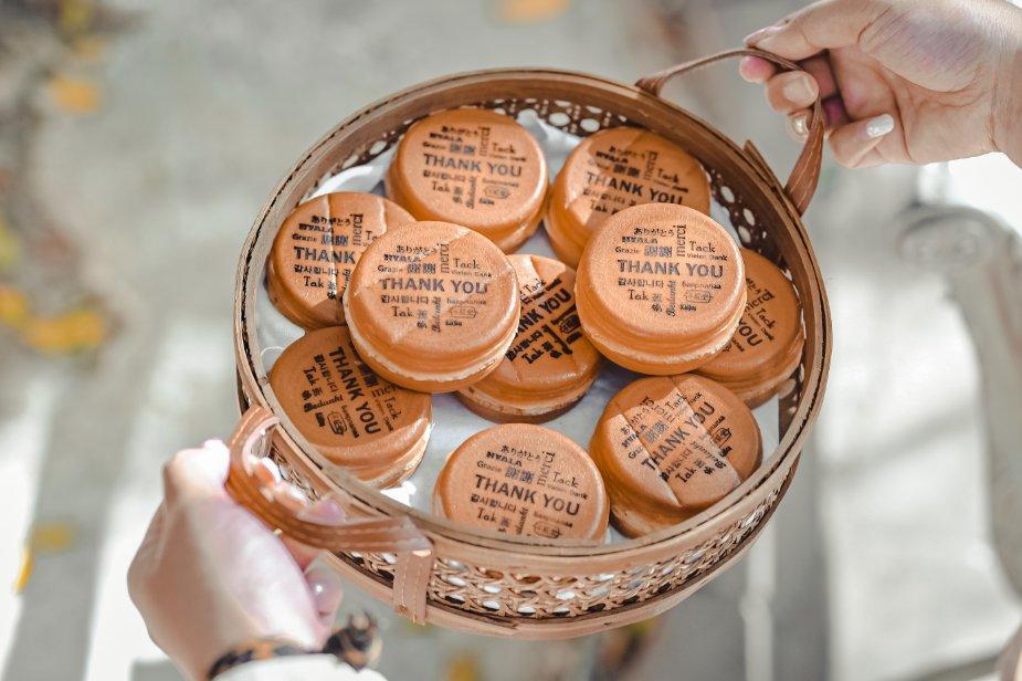 不貳光車輪餅板橋店:一顆顆渾圓飽滿象徵圓滿的車輪餅,連總統都欽點客製化/菜單/外帶 @女子的休假計劃