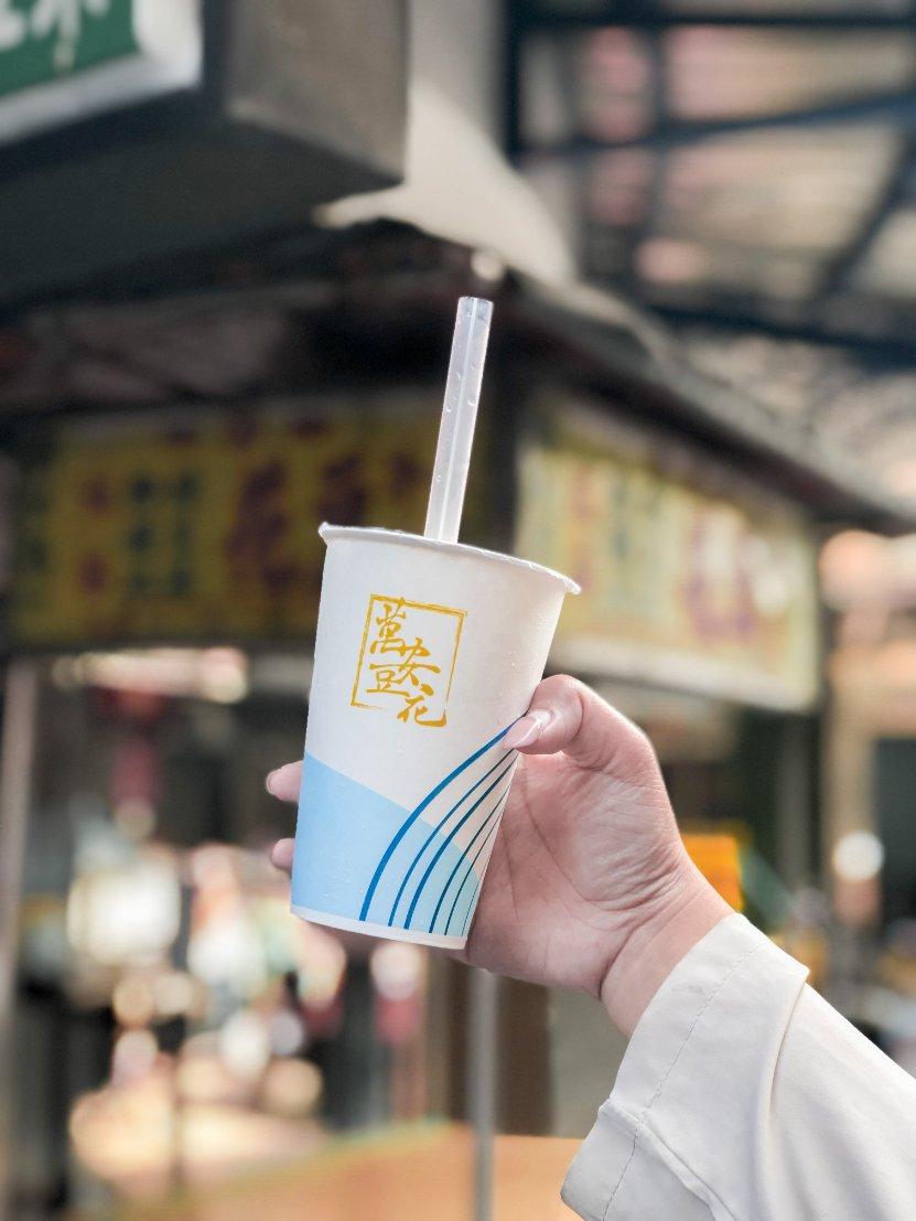 萬安豆花:在地人才知的市場巷弄隱藏版美食/新北新莊美食/銅板美食/豆花冰店/檸檬冰沙 @女子的休假計劃