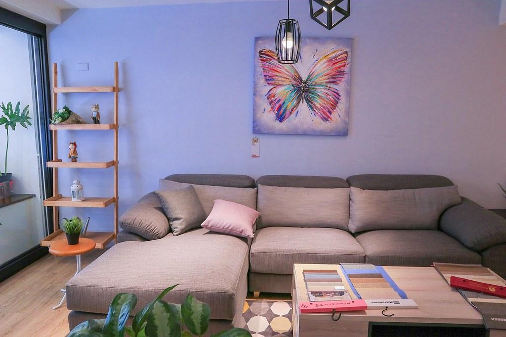 【台北家具推薦】寄居蟹家具館:布沙發推薦,可客製化傢俱訂做。 @女子的休假計劃