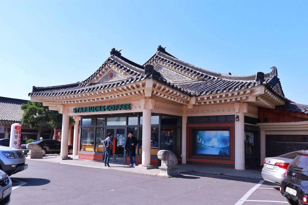 【韓國慶州景點】古城裡傳統韓屋造型星巴克概念店 /韓國限定城市杯2019 @女子的休假計劃