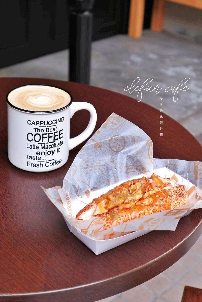 【台北信義區】ELEFUN café 艾楽咖啡:轉進巷弄中帶一杯溫暖走 /台北不限時咖啡廳 @女子的休假計劃