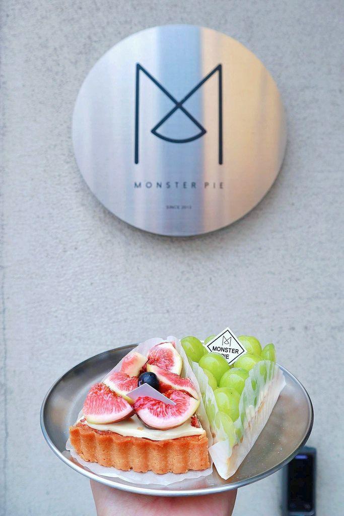 【韓國釜山美食】MONSTER PIE (몬스터파이),掉進五顏六色的寶石陷阱裡 /海雲台 @女子的休假計劃