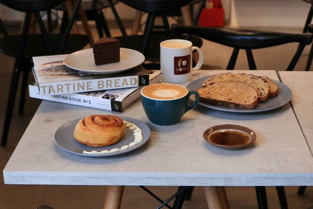 【台中北屯】BOSKE Bakery Cafe 咖啡麵包坊:來自加州舊金山道地風味 /低碳生酮食廳、無麩質飲食 @女子的休假計劃