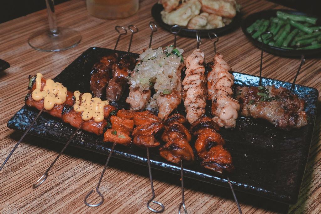【台北吃到飽】串燒殿:日式料理串燒炸物生魚片熟食499/699吃到飽 / 忠孝復興 @女子的休假計劃