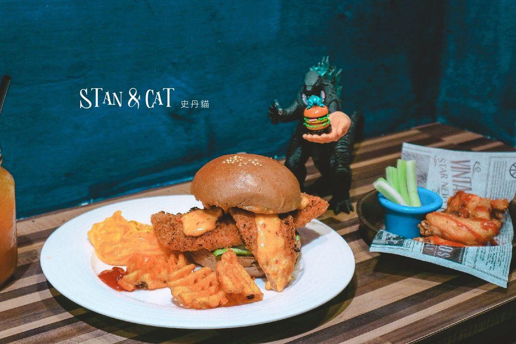 【西門町美食】史丹貓美式餐廳Stan & Cat:超級無敵海景下巴烙野孩台北人氣美式漢堡餐廳 @女子的休假計劃