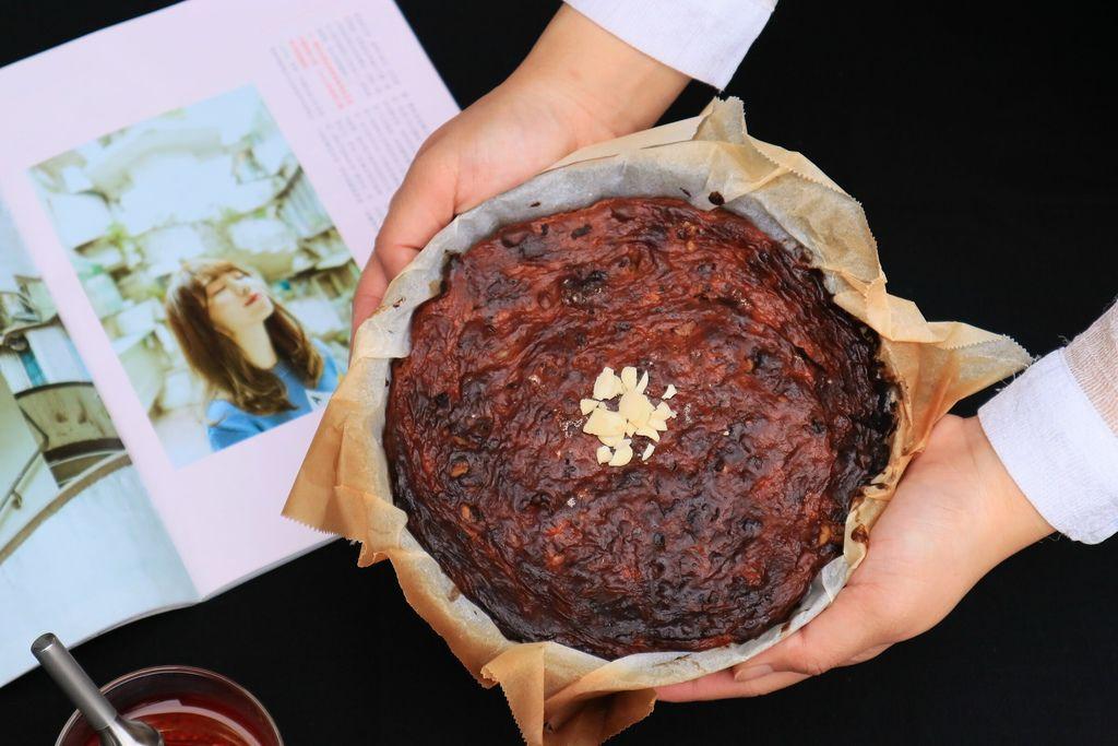 【低碳食譜-低碳甜點】巴斯克乳酪蛋糕 /無麩質無麵粉 /愛料理 @女子的休假計劃