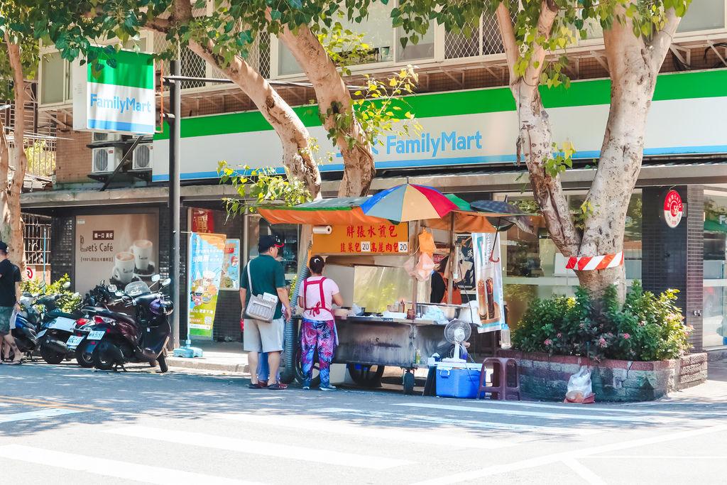 【台北民生社區銅板美食】胖張水煎包:在地人氣排隊美食早餐 @女子的休假計劃