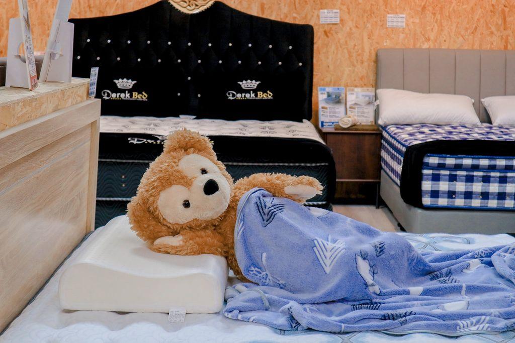【品味生活】德瑞克名床Derek Bed土城睡眠體驗館:好的床墊帶你上天堂一覺到天亮 /台北床墊推薦 @女子的休假計劃