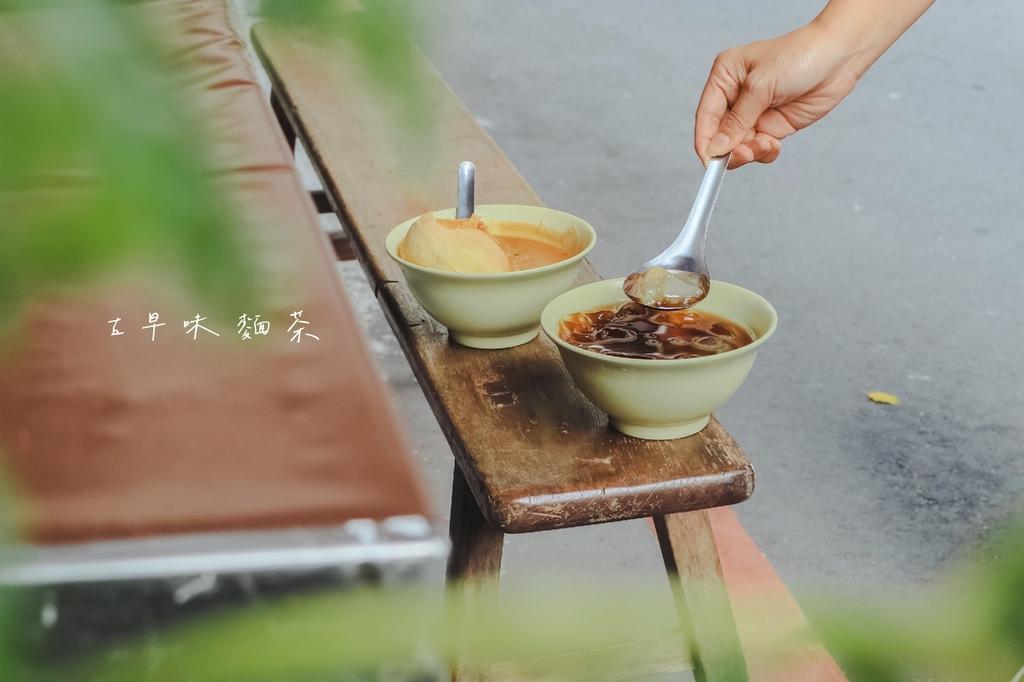 【板橋美食】阿賢古早味麵茶:麵茶碰餅繃出小時候古早味回憶,太白粉冰也很少見 @女子的休假計劃