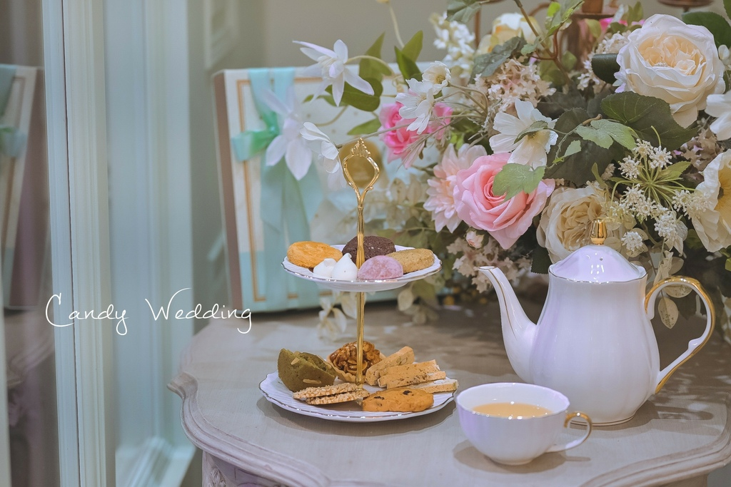 【台中喜餅推薦】Candy Wedding:一生一次美好承諾,每一口都是幸福。 @女子的休假計劃