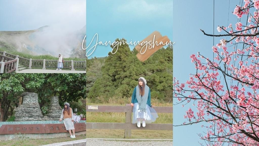 台北陽明山2021兩天一夜懶人包,免費泡溫泉賞櫻花,IG打卡輕旅行熱門景點。 @女子的休假計劃