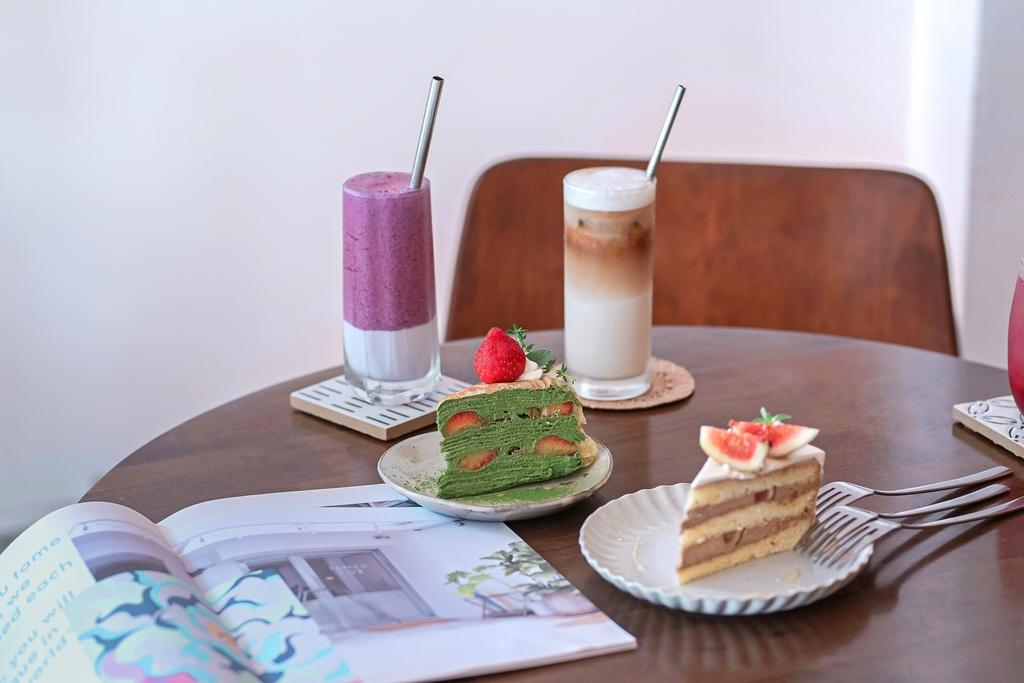 【台北甜點】Guoguo果果:誘人甜香如寶石般的櫥窗櫃,主打水果蛋糕的網美咖啡廳 /大安區甜點下午茶 @女子的休假計劃
