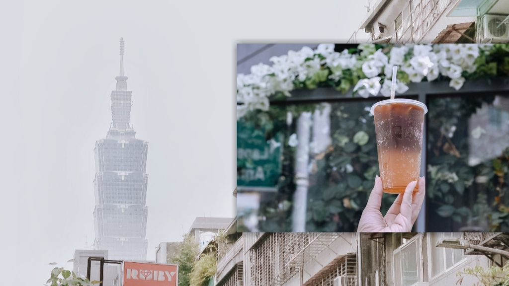 【台北不限時咖啡廳】點38 CAFE:7:38開賣,眼前就是台北101從早晨看到夜晚。 @女子的休假計劃