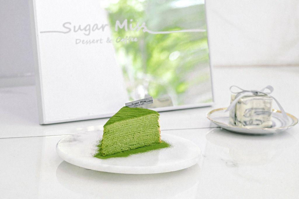 【台北東區咖啡廳外帶】Sugar Miss:大理石蛋糕像精品美的捨不得吃,抹茶千層蛋糕完美比例收服抹茶控的心! @女子的休假計劃